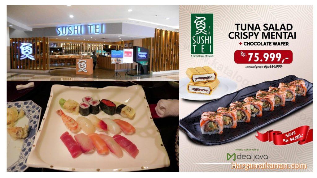 Daftar Harga Menu Sushi Tei Surabaya Terbaru 2020