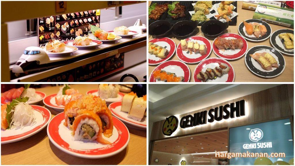 Harga Menu Genki Sushi