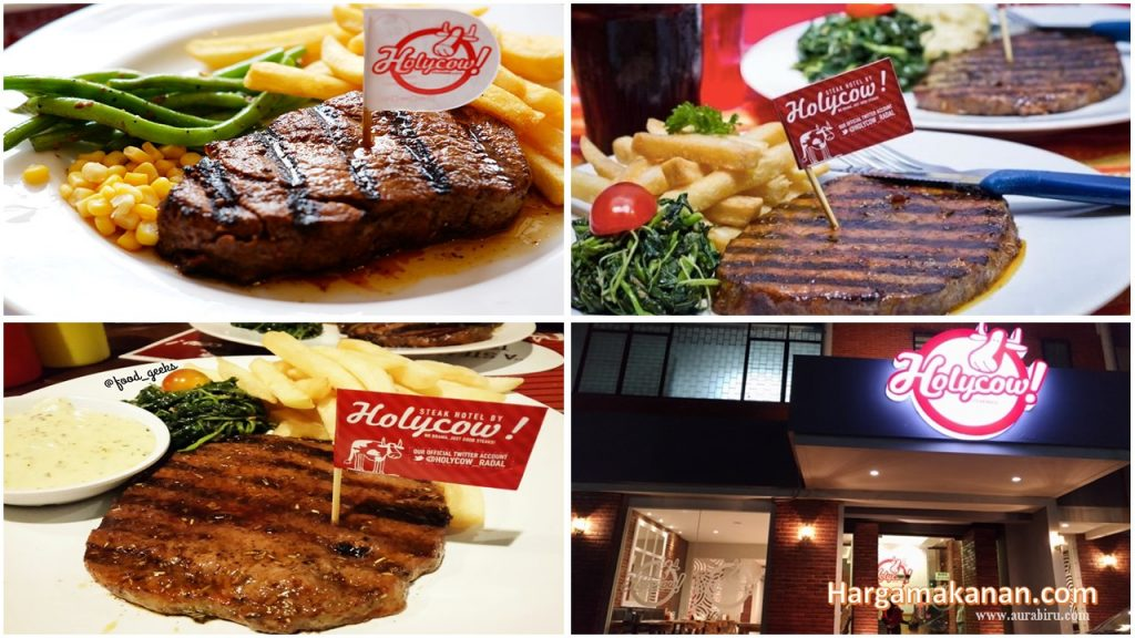 Harga Menu Steak Holycow