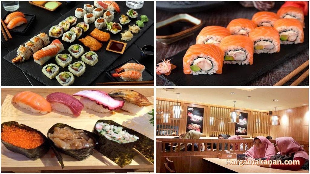 Harga Menu ichiban sushi