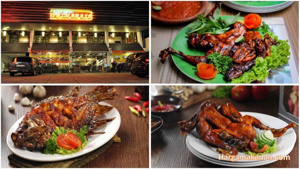 Harga Menu Ayam Bakar Primarasa Surabaya