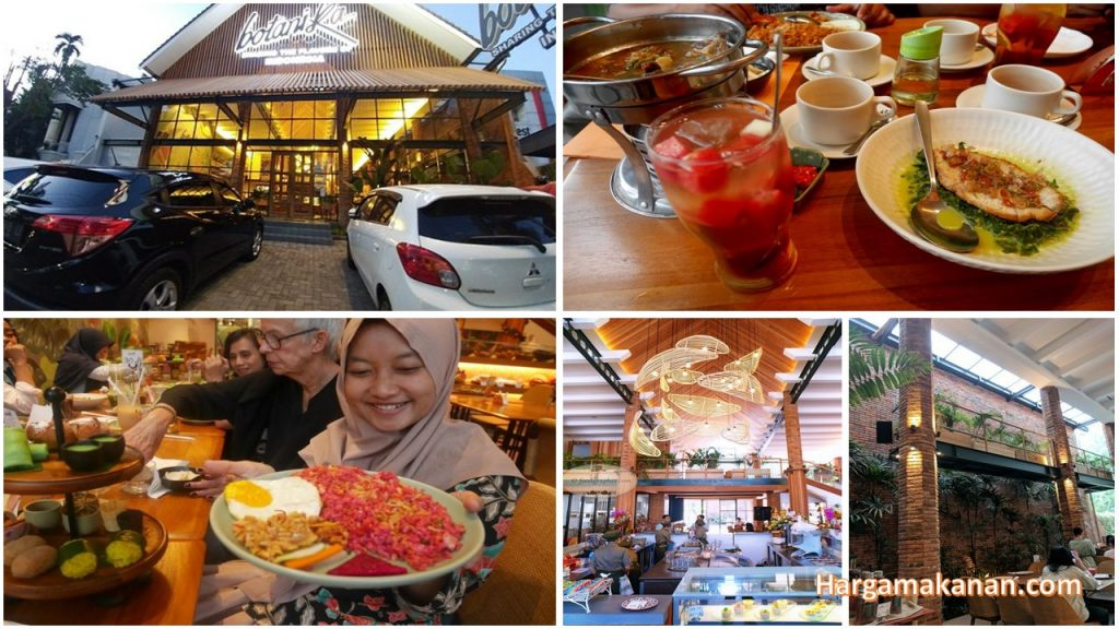 Harga Menu Botanika Surabaya