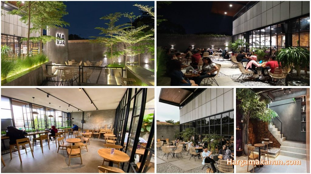 Harga Menu Nakoa Cafe Malang