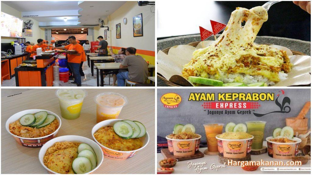 Harga Menu Ayam Keprabon Express Malang