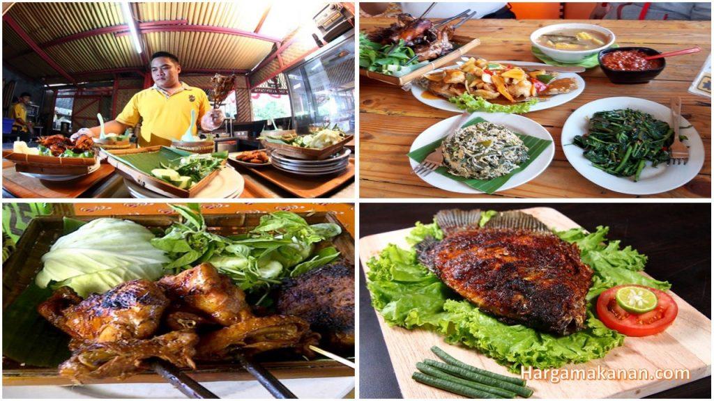 Harga Menu Ayam Bakar Lientang Malang