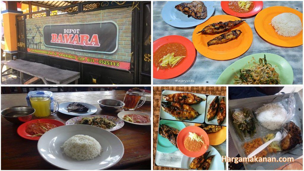Harga Menu Bamara Surabaya
