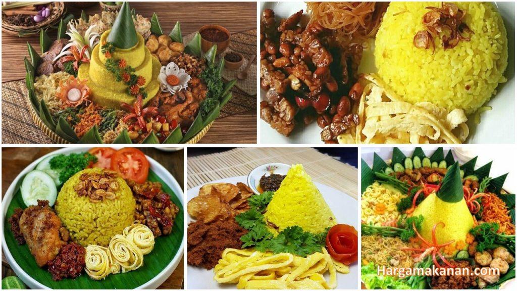 7 Aneka Resep Nasi Kuning Pilihan yang Enak