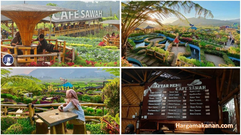 Harga Menu Cafe Sawah Pujon Kidul