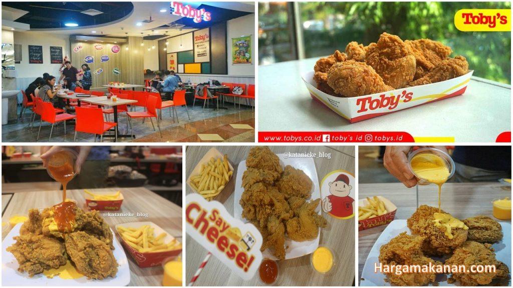 Harga Menu Toby's Ayam Goreng Keju Surabaya